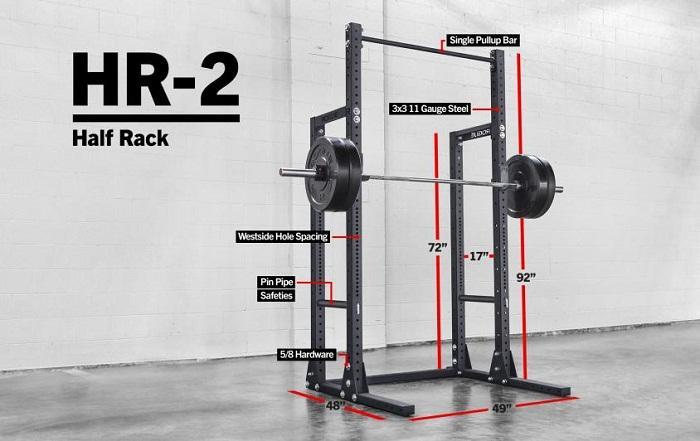 Rogue HR 2 Half Rack